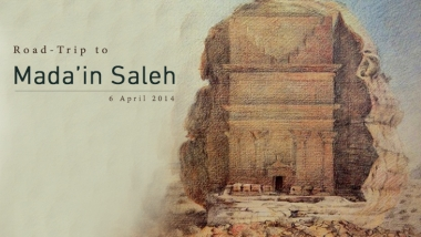Our upcoming road trip to Madain Saleh