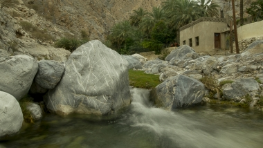 Relaxing in Ayn Al Thawara