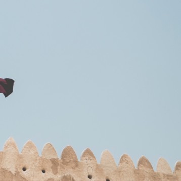 Al Zubarah fort .. First UNESCO site in Qatar