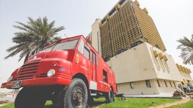 From Doha fire station to Artist in residence!!