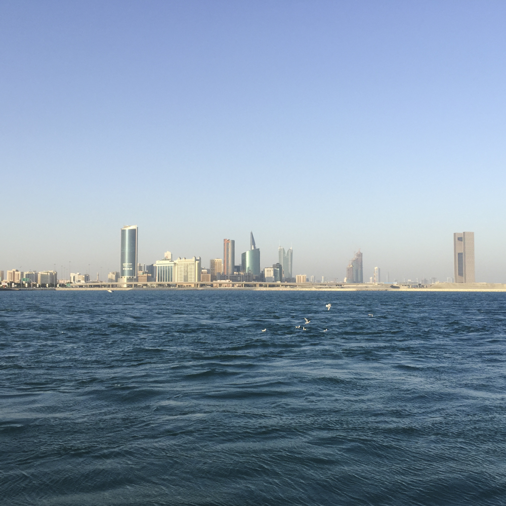 Walking around Bahrain